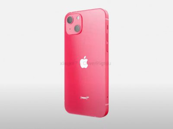 iPhone 13 Product Red появился на рендерах (видео)